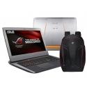 Лаптоп ASUS G752VT-GC048T R55.138 + подарък раница ASUS ROG