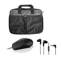 Lenovo Bundle 3 in 1 - чанта 15+ мишка + слушалки