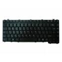 Клавиатура за Toshiba Satellite L600 L630 L640 L645 Черна Лъскава