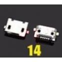 Micro USB 2.0 socket connector