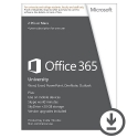 Office 365 University 32-bit/x64 English Subscr 4YR AE Eurozone Medialess