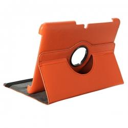 Кожен калъф за таблет SAMSUNG GALAXY TAB 2 10.1'' оранжев
