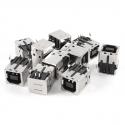 Захранваща букса за принтер USB A-B Power Jack Type-B