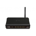 Рутер D-Link Wireless 150 Router with 4 Port 10/100 Switch